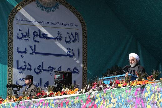 فیلم | خبر خوش روحانی در روز 22 بهمن
