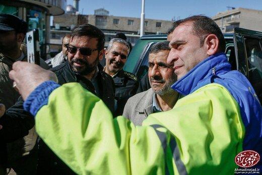 حضور دکتر احمدینژاد در راهپیمایی باشکوه یومالله ۲۲ بهمن