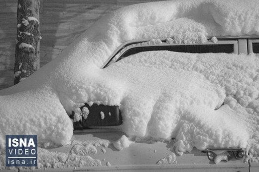 جانباختن سه تن در پی بارش برف در استان گیلان/ اعلام جزئیات مصدومان و آسیبدیدگان