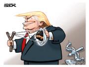ترامپ اینجوری از شاهدان استیضاح انتقام گرفت!