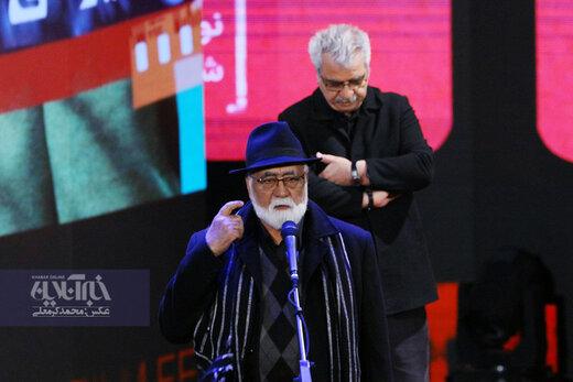 گرامیداشت فریدون جیرانی در اختتامیه سی و هشتمین جشنواره فیلم فجر