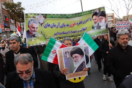 حضور حماسی و افتخارآفرین مردم البرز در راهپیمایی ۲۲ بهمن قابل تقدیر است