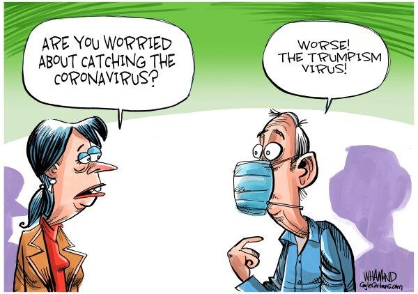 ویدوس ترامپ، خطرناک ترین ویروس قرن!