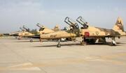 جنگنده F۵ ارتش جمهوری اسلامی را ببینید و بشناسید +عکس
