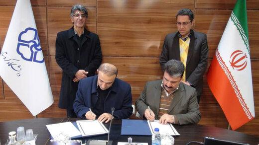 دانشگاه کردستان و فنی حرفهای تفاهم نامه همکاری امضا کردند
