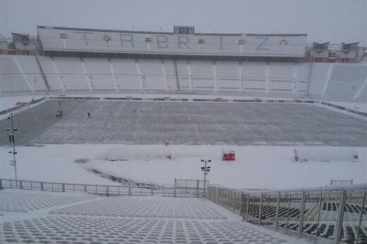 برف بازی تراکتور - سایپا را لغو کرد!