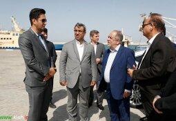 بازدید مشاور رئیس جمهور از پروژه های عمرانی جزیره کیش