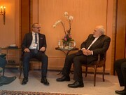 وزرای خارجه ایران و کرواسی با هم دیدار کردند
