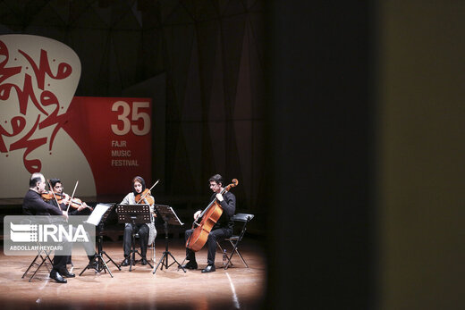 دومین شب جشنواره موسیقی فجر در تالارهای وحدت و رودکی