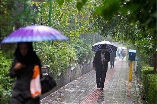 ورود موج بارشی از یکشنبه به کشور/ کدام استانها بارانی میشوند؟