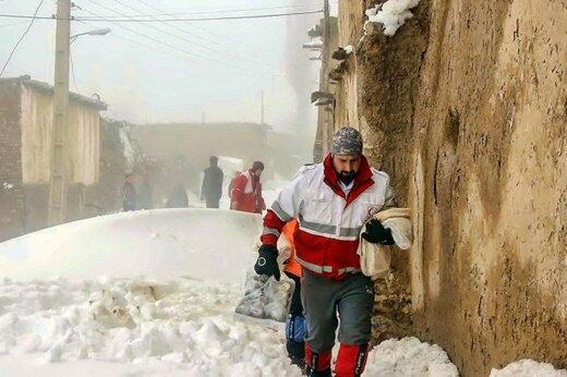 آخرین جزئیات از امدادرسانی به مناطق حادثهدیده از برف
