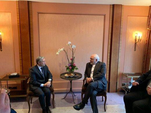 دیدار ظریف با همتای کانادایی