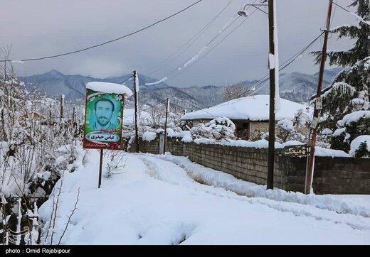 تداوم کولاک برف در آذربایجان شرقی/ راه ۷۰۰ روستا دوباره مسدود شد