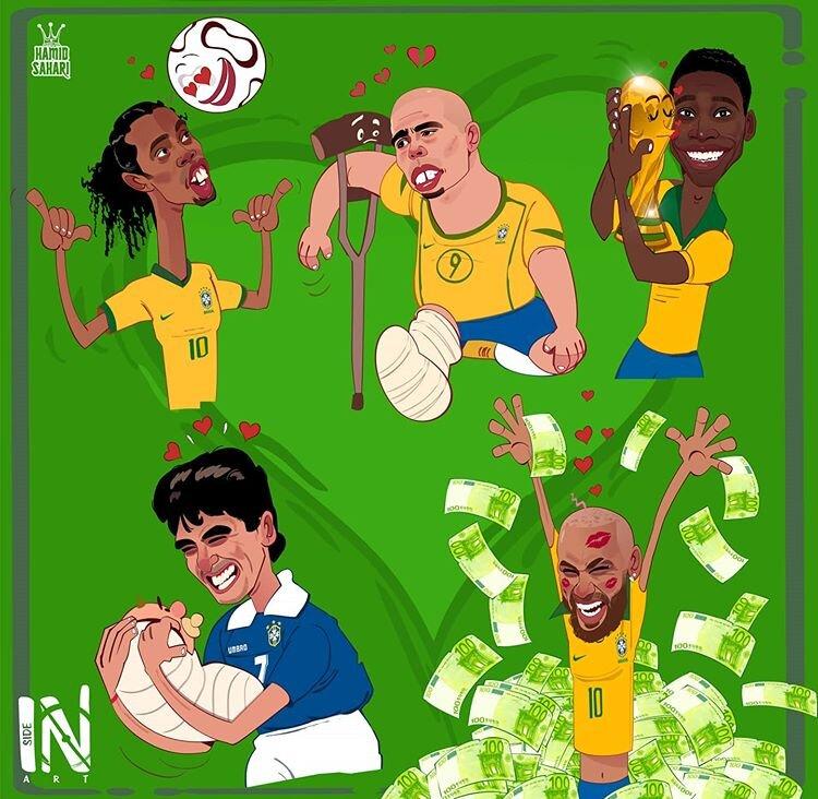 این هم ولنتاین فوتبالیست ها!