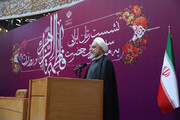 President Rouhani honors National Women's, Mother's Day