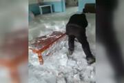 فیلم   تصور کنید کف خانهتان به عمق نیم متر یخ زده باشد! اینجا، خلخال است