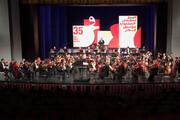 فیلم   لحظاتی از اجرای ارکستر سمفونیک تهران در جشنواره فجر