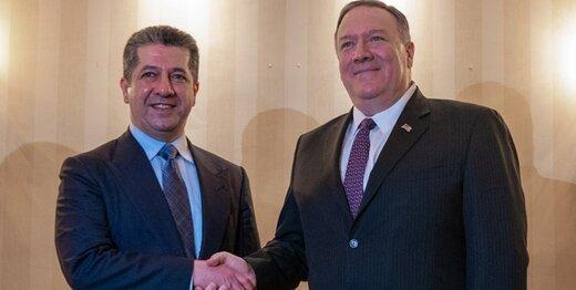 بیانیه وزارت خارجه آمریکا درباره دیدار پمپئو و بارزانی