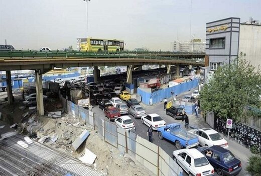 اعلام زمان بهره برداری از زیرگذر پل گیشا