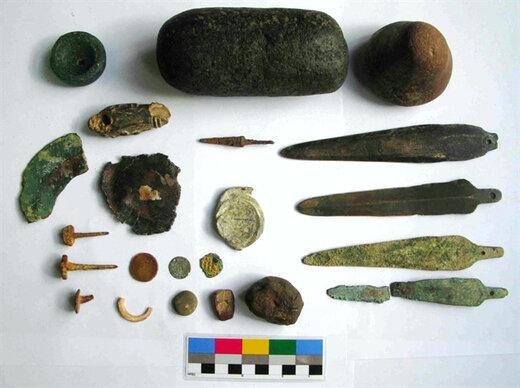 ۴۹۲ قلم اشیاء تاریخی و باستانی در شهرستان سقز کشف و ضبط شد