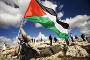 ببینید | خراب کردن دیوار صهیونیستها توسط روستاییان فلسطینی