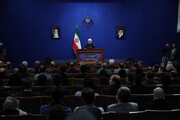 روحانی: دولت و من هیچ لیستی در انتخابات نداریم /نگران غیررقابتی بودن انتخابات در ۷۰ حوزه انتخابیه بودم /۳