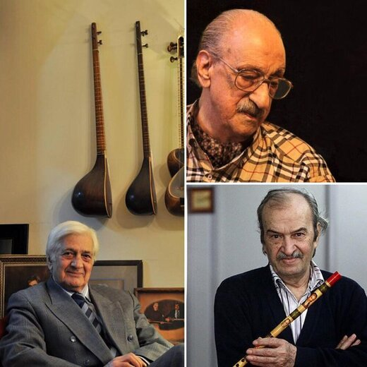دیدار سه بزرگ موسیقی ایران پس از سالها