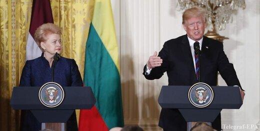 پمپئو: لیتوانی شریک آمریکا برای مقابله با نفوذ شرورانه روسیه است