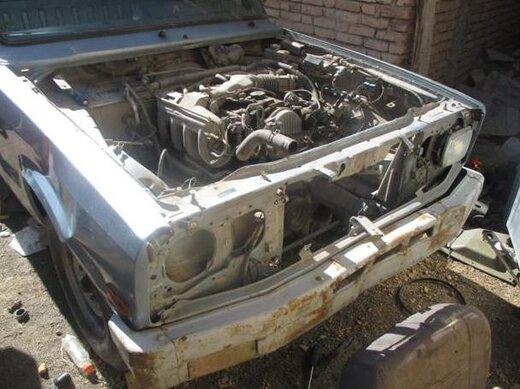 """کشف 2 دستگاه خودرو مسروقه در شهر """"کیان"""""""