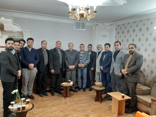 حمایت ورزشکاران از کاندیداهای مجلس شورای اسلامی در سمنان