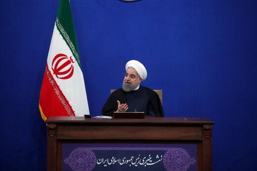 پاسخ قاطعانه روحانی به شایعه استعفایش /رهبری فرمودند اجازه نمیدهم دولت حتی یک ساعت زودتر به کار خود پایان دهد/۴