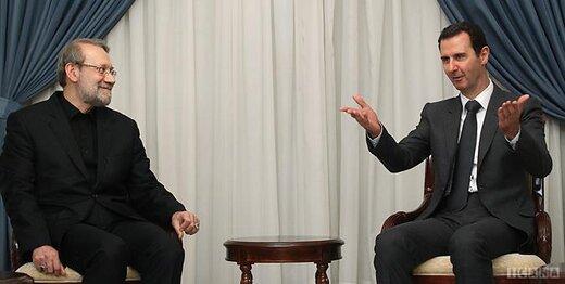 در دیدار لاریجانی و بشار اسد چه گذشت؟