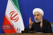 ببینید | تصاویری از حسن روحانی در زمان گفتن حرفهای مهم از آبان و بنزین تا سقوط هواپیما و شایعه استعفایش