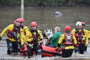 تصاویر |  خسارت شدید طوفان در انگلیس