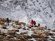 نجات جان کوهنورد ۴۰ ساله در ارتفاعات زردکوه
