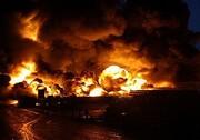 انفجار یک مرکز غیرمجاز فروش گاز در کرج