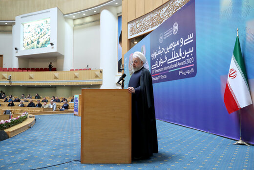 Rouhani hails scientific successes after Islamic Revolution