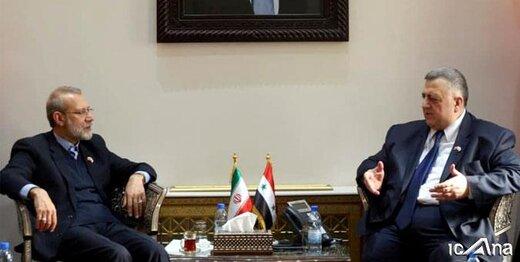 روایت لاریجانی از ادعای یکی از رهبران منطقه درباره سوریه و دولت بشار اسد
