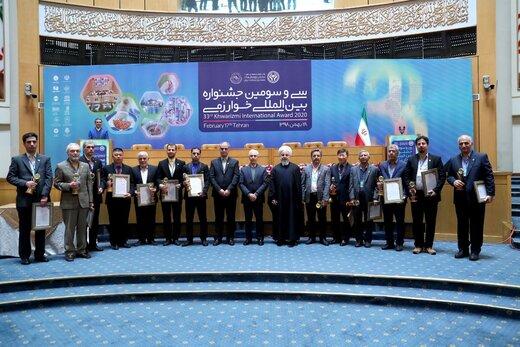 Int'l Khwarizmi Festival kicks off in Rouhani presence