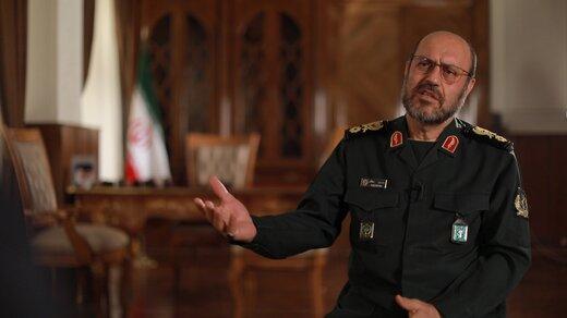 سردار دهقان: رئیس جمهور شدنم به منزله حکمرانی نظامی بر ایران نیست /فقط یک فرد نظامی نیستم