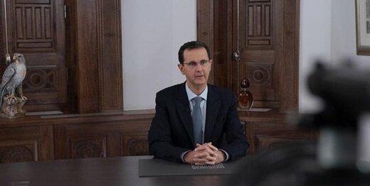 واکنش بشار اسد به آزادسازی حلب