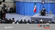 دیدار هزاران نفر از مردم آذربایجانشرقی با رهبر انقلاب