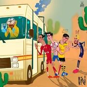 اتوبوس لیگ قهرمانان اروپا رسید!