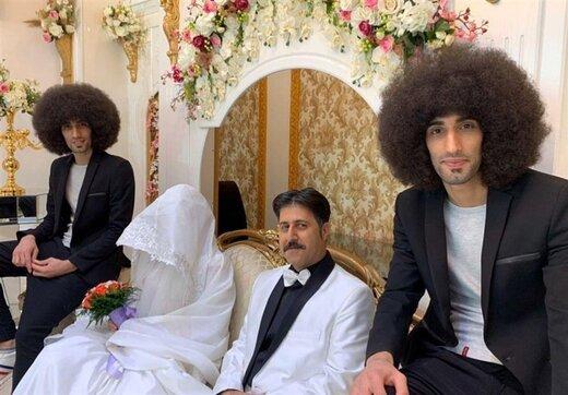 واکنش بازیگر «پایتخت» به عکسی که از عروسی رحمت پخش شد