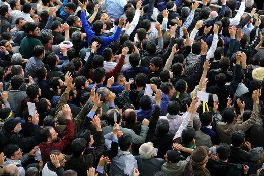 دیدار مردم آذربایجان شرقی