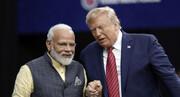 اظهارنظر تازه ترامپ درباره توافق تجاری با هند