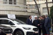 ببینید | رییس جمهور از چند خودروی جدید داخلی رونمایی کرد
