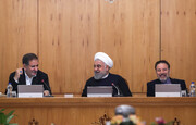 تصاویر   جلسه هیئت دولت با حضور رئیس جمهور