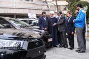 بازدید رییس جمهوری از ۴ خودروی جدید داخلی آماده عرضه در بازار