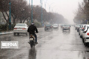 این استانها دوشنبه بارانی میشوند